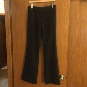 NEW Limited black lined wide leg dress pants